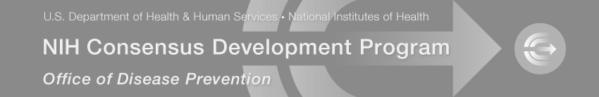 Banner for the NIH Consensus Development Program