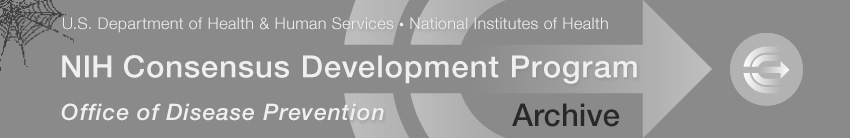 NIH Consensus Development Program masthead